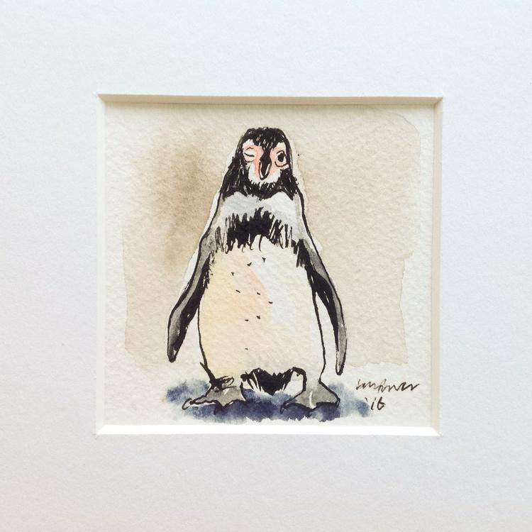 'A Wink' - miniature penguin Art - Image 0