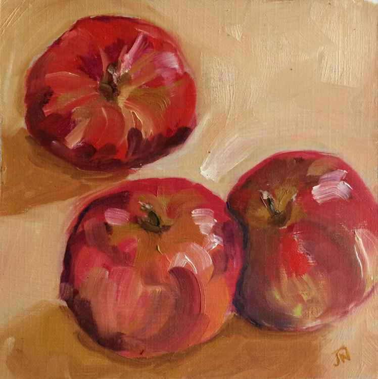 Three Apples - Study -