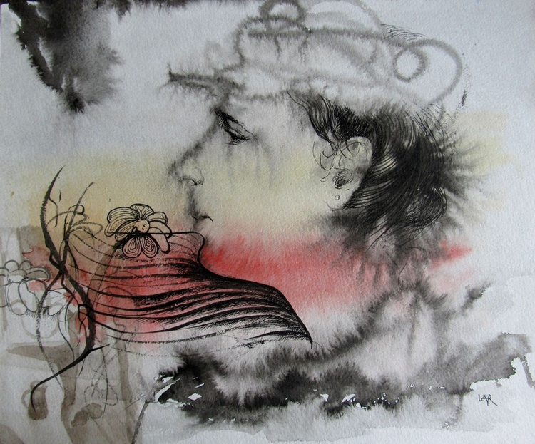 The Woman's portreit - Image 0