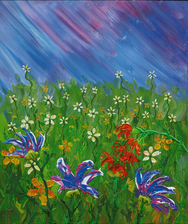 Wild flowerfield - Image 0