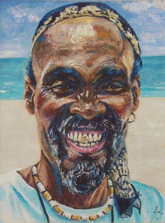 Barbados Beach Seller - Image 0