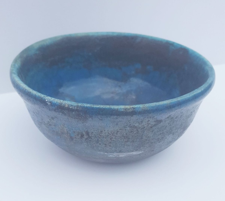 Bright Blue Bowl - Image 0
