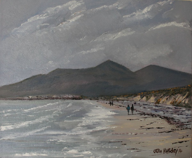 Mournes from Murlough Bay, Co Down. - Image 0