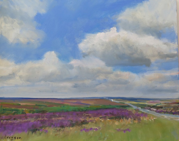 Goathland Heather in the Yorkshire Moors. - Image 0