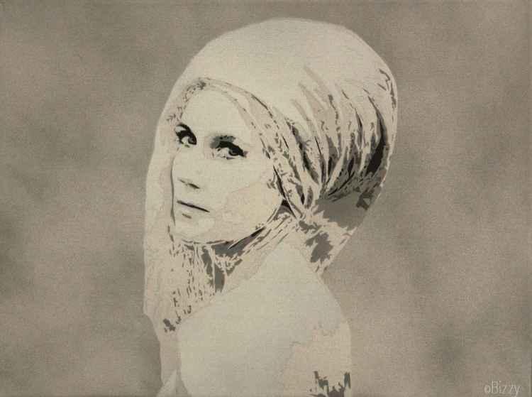 Lady in kerchief -