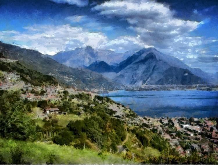 Lake como no. 2 - Image 0