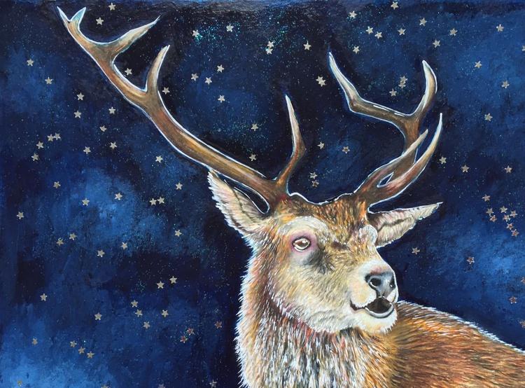 Starlit stag - Image 0