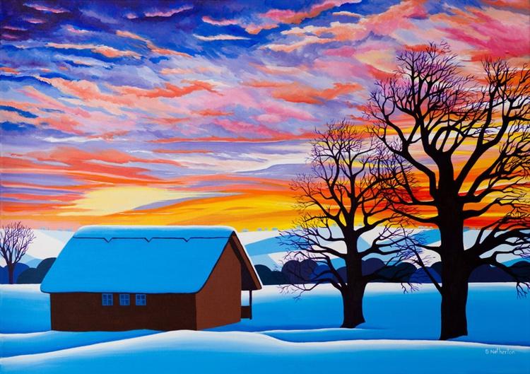 Winter Sunset - Image 0