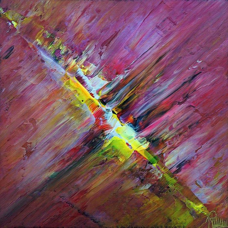 color explosion small 20 20 by richard vloemans artfinder