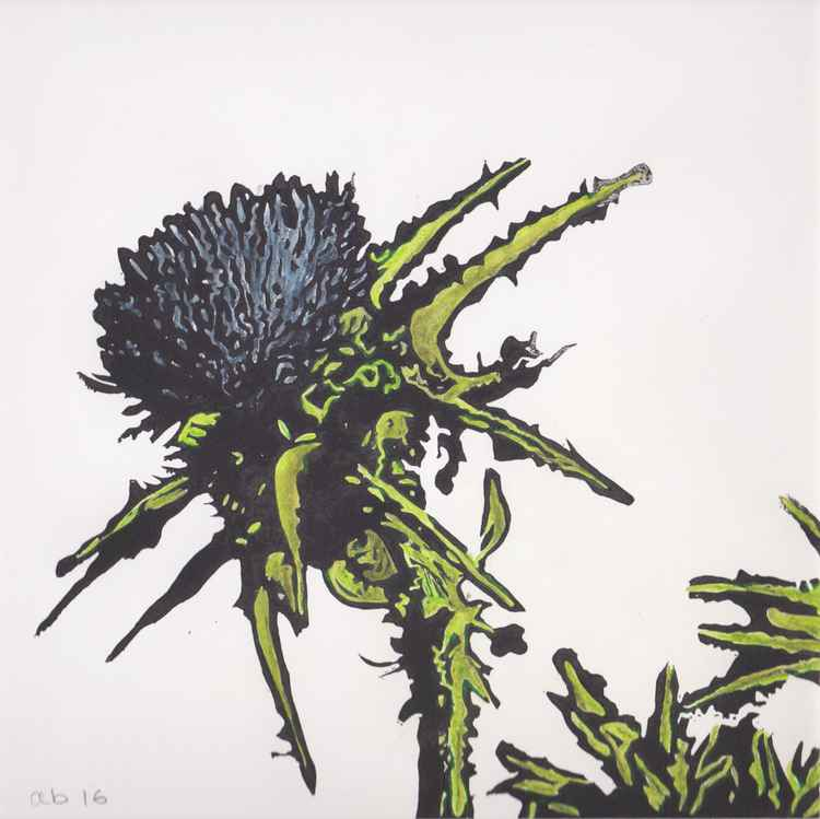 Spikes 6 - Scottish thistle -