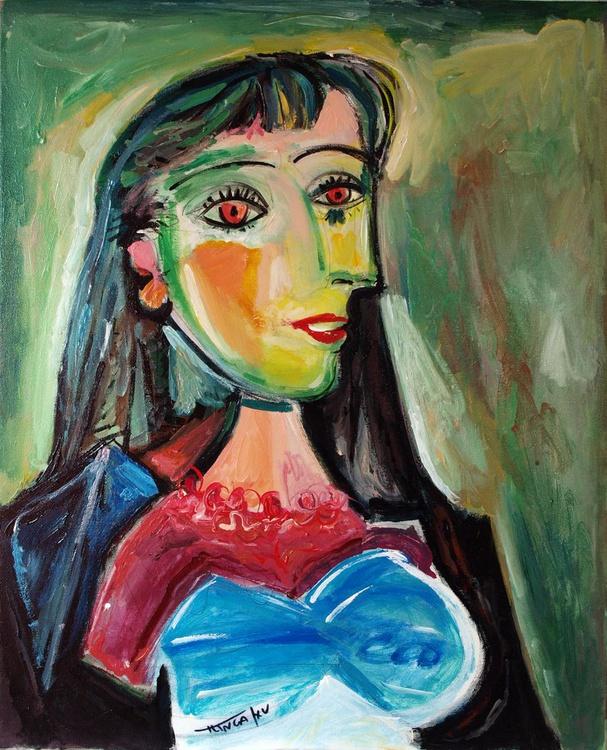 Post Picasso series: buste de femme - Image 0