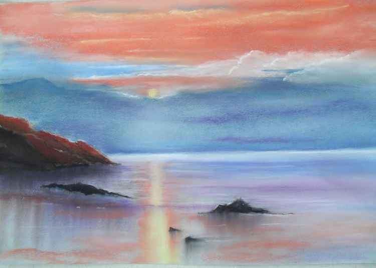 """ Sunset in Pastel"" -"