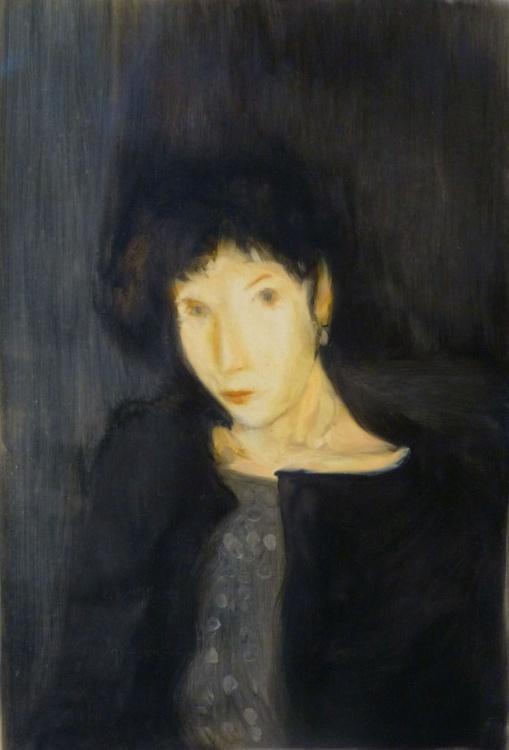 Phantom, oil on canvas, 54x81 cm - Image 0