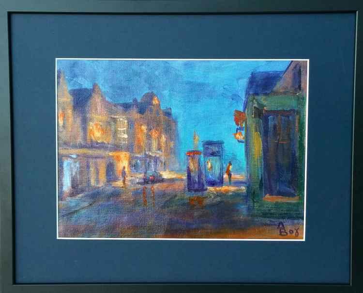 Edinburgh twilight -