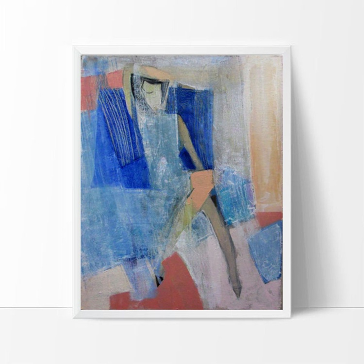 blue square - Image 0