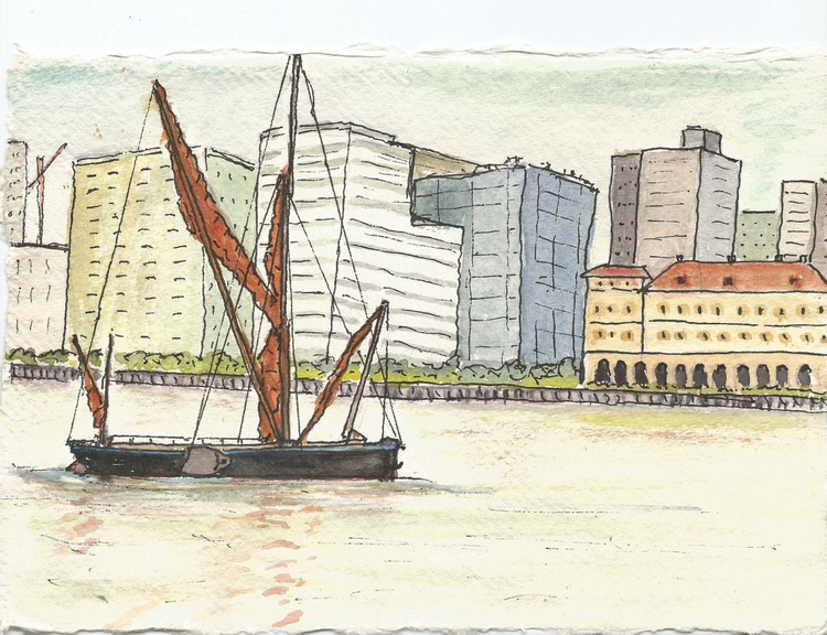 Barge in the City - Image 0