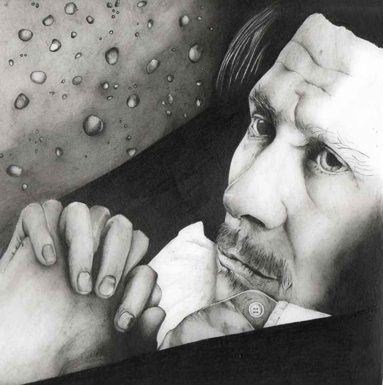 Gary Oldman pencil portrait #2
