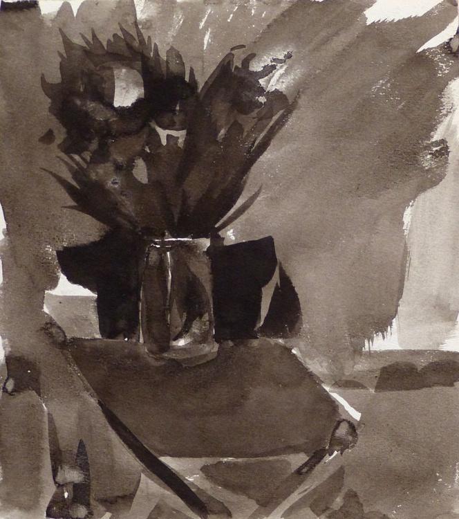 Double Bouquet, 19x21 cm - Image 0