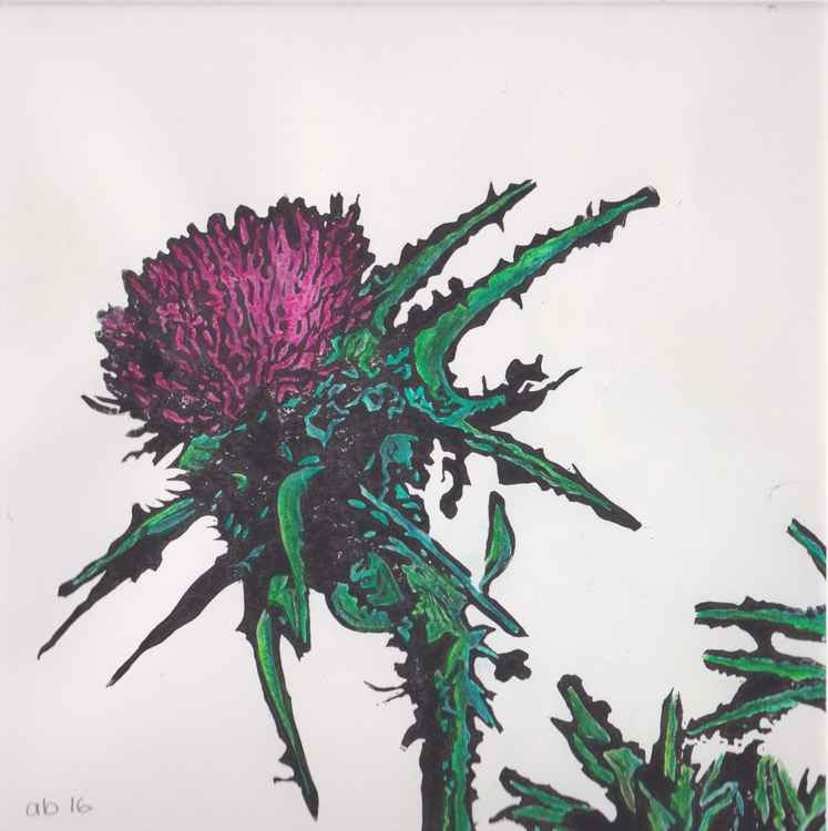 Spikes 3 - Scottish thistle