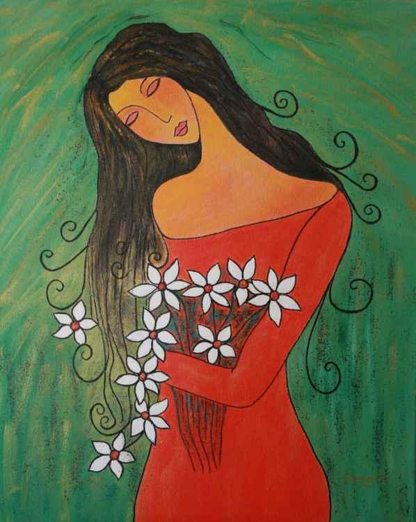 The Flowergirl.....