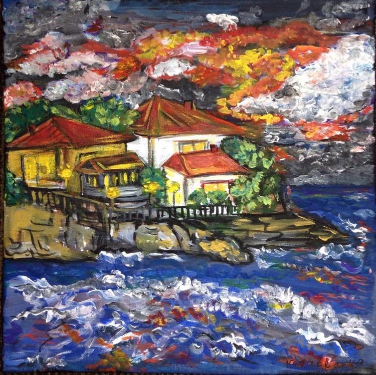 Sea and Houses - Image 0