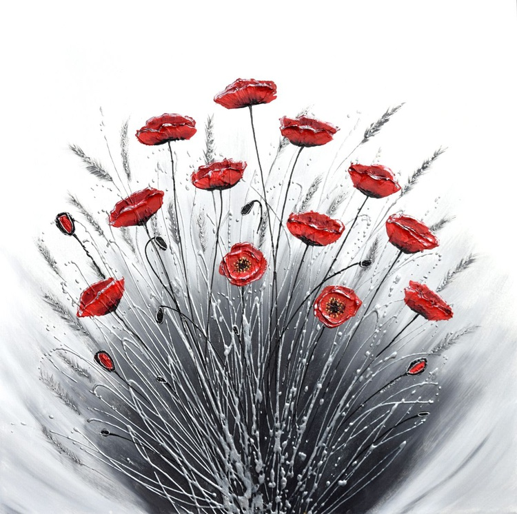 Bunch of Poppies - Image 0