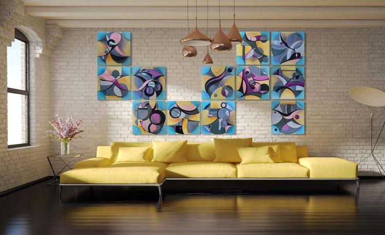 ∞ (decorative panel, 12 pieces) - Image 0