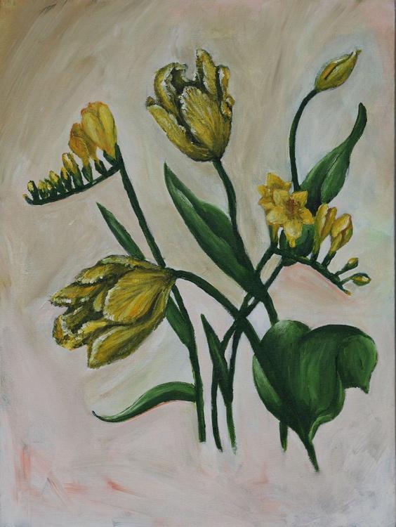 Freesia and tulips - Image 0