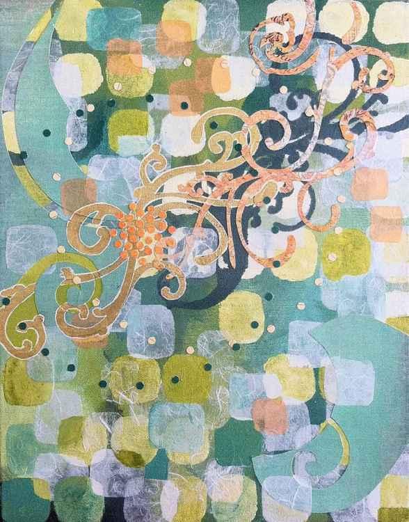 Swirls Across -