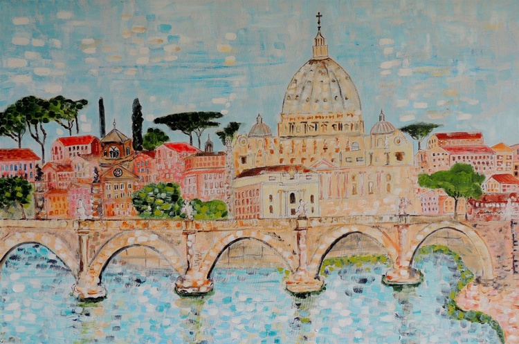 St Peter's From Tiber - Image 0
