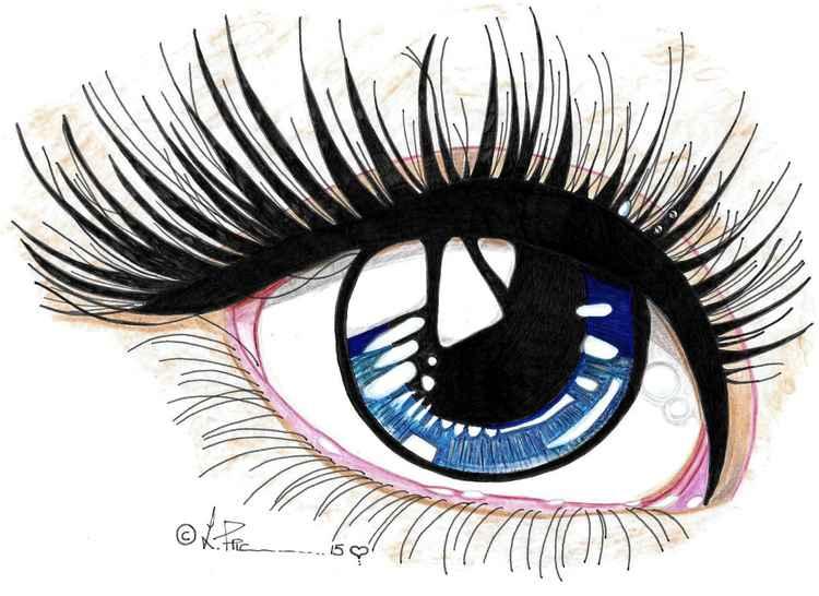 Blue eye study -