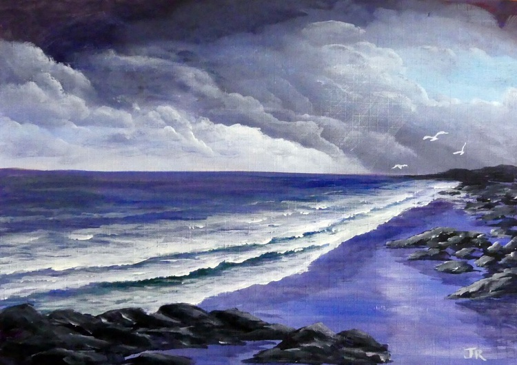 Stormy Beach - Image 0