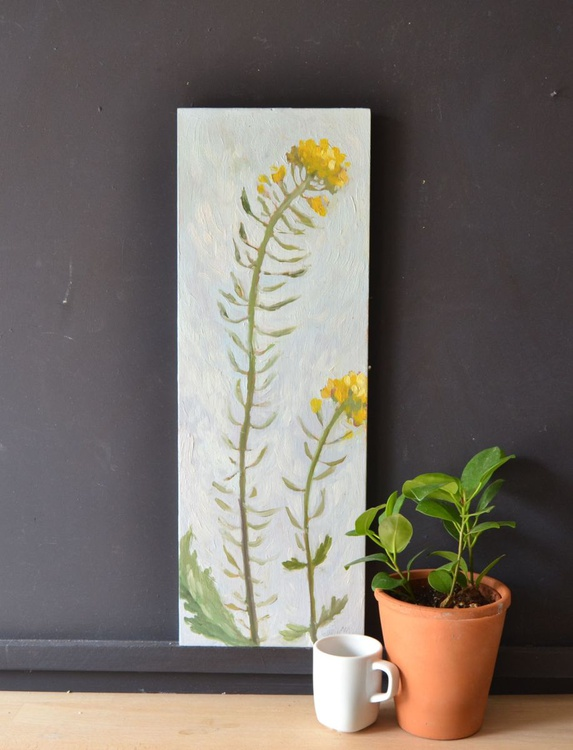 Yellow Rapeseed Flowers Oil Painting n.4 - Image 0