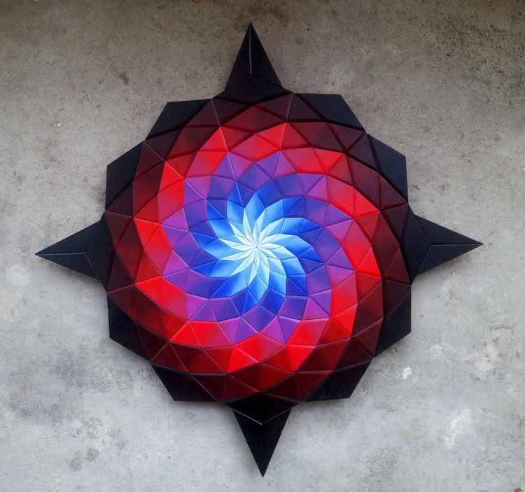 Technicolor vortex -