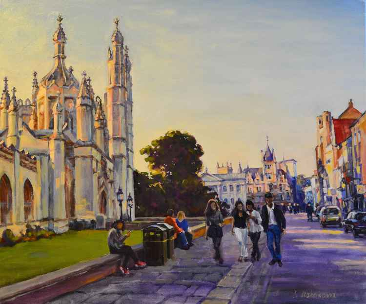 Cambridge. King's Parade.