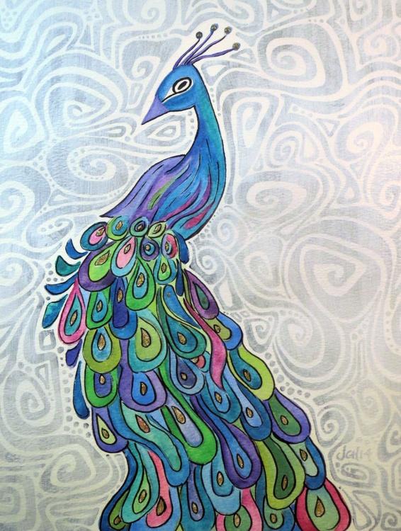 Groovy Peacock - Image 0