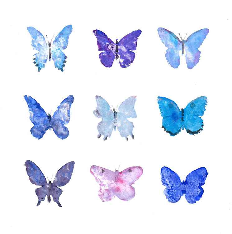 Nine Butterflies 2121BP1 -