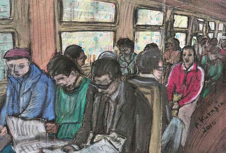 The metro -