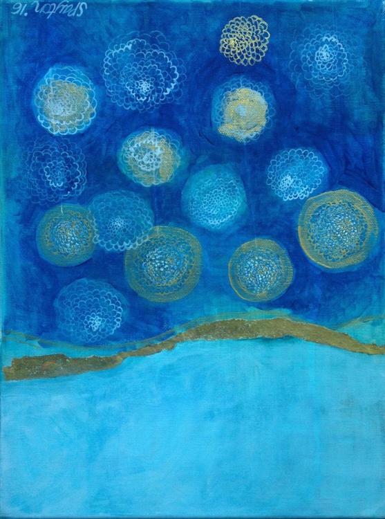 The big blue night sky - Image 0