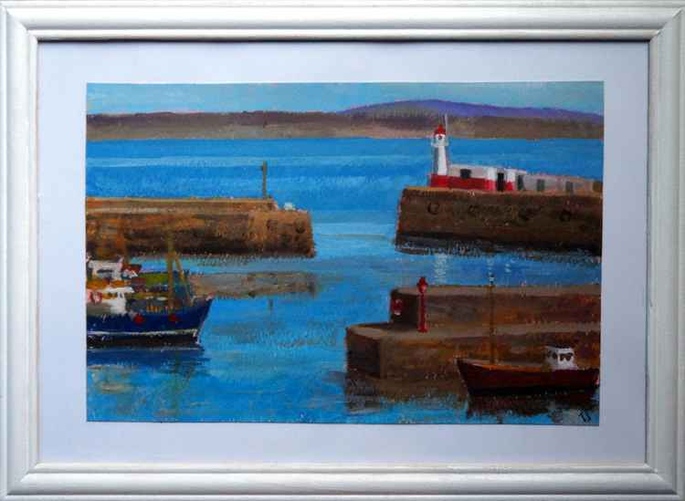 Newlyn harbour -