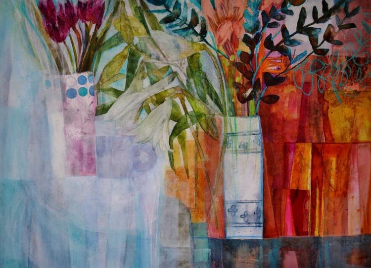 Flowers and Eucalyptus - Image 0