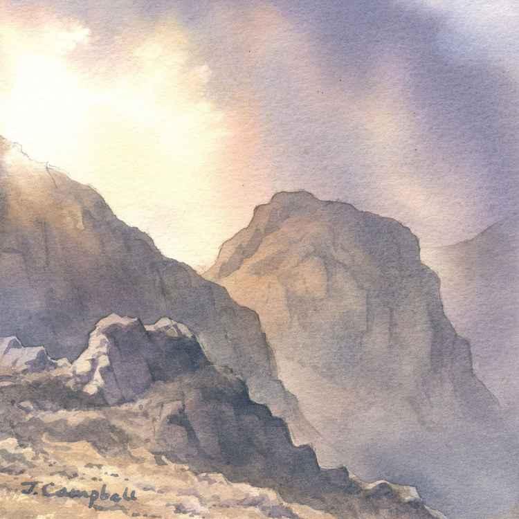 Crinkle Crags, Langdale.