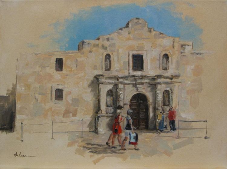 Alamo visitors - Image 0