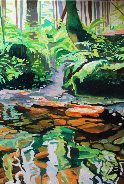 The Trickling Stream - Image 0