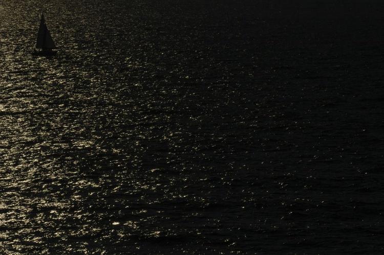 """Lone sailboat"" - Image 0"