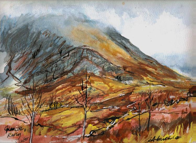 Glen Coe Early Winter - Image 0