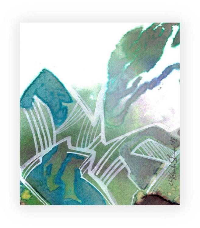 Miniature Abstract No. 200 - Image 0