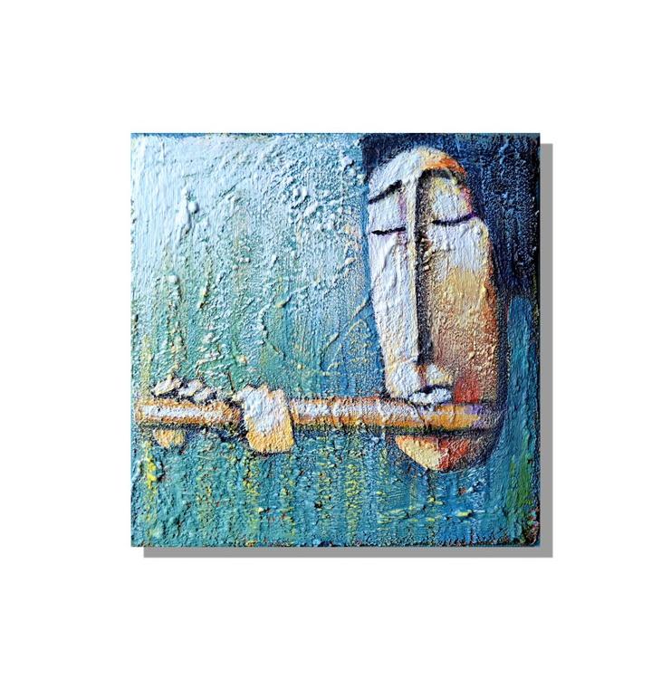 Flûte (15x15x1.5cm) - Image 0