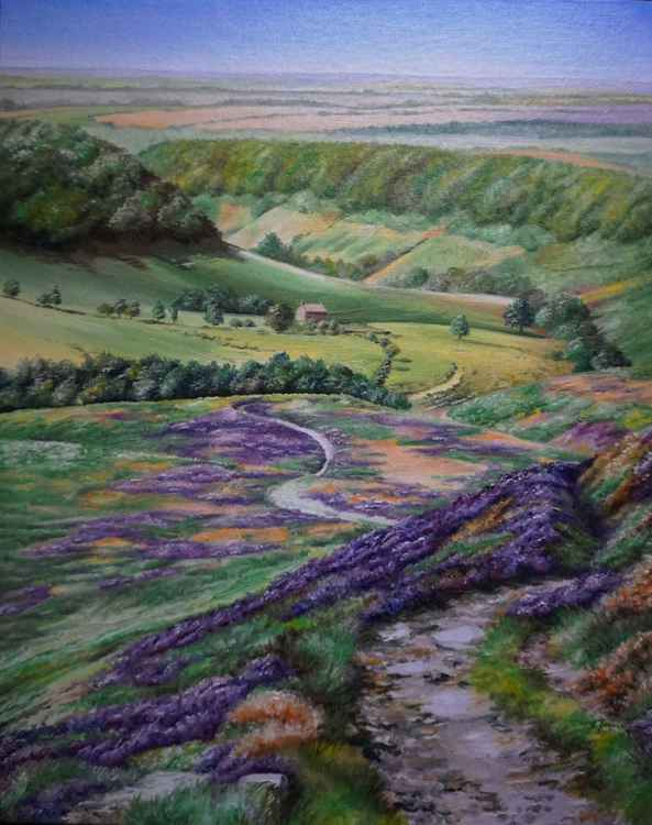 Horcum in Purple 20x16 -