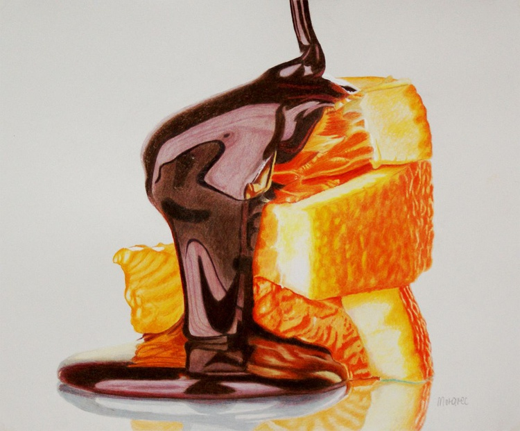 Chocolate Shower - Orange - Image 0